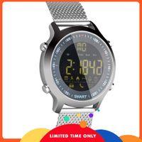 Бесплатный EX18 Smart Watch Memord Meter Meter Step Phone Информация о будильнике будильника напоминает Bluetooth Водонепроницаемый светлый циферблат, чтобы быть дополнительно