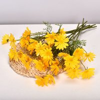 52cm Fake Chrysanthemum Home Decoration Wedding Living Room Artificial Flower Dining Table Decoration Valentine's Day Gift T500620