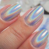 Nail Art Kits Holographic Laser Glitter Powder Mirror Chameleon Dust Shining Chrome Pigments Decorations