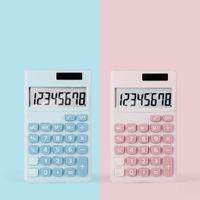Candy Color Cute Calculators Solar 8-digit Mini Portable Student Calculator Office & School Supplies 2 colors