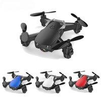 TaNine E61HW Mini drone avec 720p HD Caméra Hight Mode Hold-Mode RC Quadricopter RTF WiFi FPV Hélicoptère pliable Jouets VS HS210