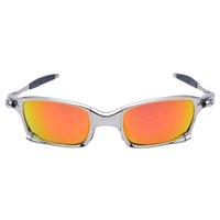 MTB Gafas de sol Aleación Gafas polarizadas Hombres Gafas de ciclismo UV400 Gafas de sol Ciclismo Gafas de sol Bicicleta Gafas de sol CiclismoA1-2 Q0121