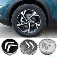 Casquette de roue de voiture de 60mm pour Citroen C4 Picasso C3 BERLINGO C5 X7 C2 C1 DS3 ZX XSARA C8 DS DS4 Auto Logo Auto Housse Cover Accessoires