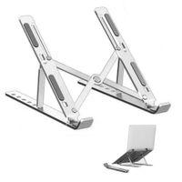 Computerzubehör Tragbare Laptopständer Einstellbare Halterung Aluminium Faltbare Notebook Support Base Tablet Desktop Halter KDJK2105