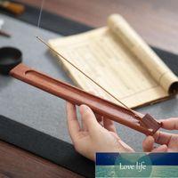Fragrance Lamps Bamboo Stick Incense Holder Adjustable Angle Yoga Meditation Sandalwood Burner With Ash Catcher Home Decoration