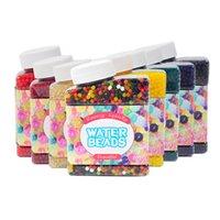 Juegos de novedad Bead absorbente de agua Más de 10,000 en una botella grandes cuentas, bombas de absorbentes de agua, bebés marinos, mármoles de agua coloreados, lodo de cristal de suelo nutritivo