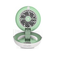 Spraying and cosmetic humidifier multi-function mirror Fan