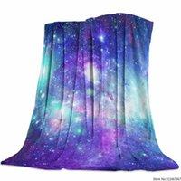 Fleece Manta Lanzar para cama o sofá, Microfibra Super Soft Microfibra Frannel Decorativas Para Adultos, Mantas Galaxy