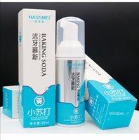 Tooth whitening foam toothpaste Press mousse soak type