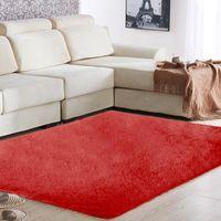 Carpets Polyester Fiber 160x90cm Dining Room Carpet Floor Area Rug Bright Warm Mat Home Fluffy Rugs Anti-Skid Bedroom Sofa Decoration