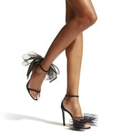 Sandals Women 2021 Female Shoes Summer High Heels Sexy Pumps Cover Heel Ankle Strap PU Leather Fashion Ladies Plus Size 35-40