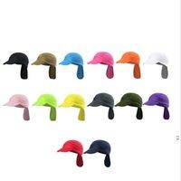 Étanche UV Résistance aux UV Pêche Pêche Fournitures Hommes Femmes Plein air Couleur Pure Couleur Sun Protection Chapeau d'escalade Motif OWC7166