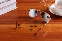 Gafas de sol de seguimiento de anteojos, reflectores, gafas de vista trasera