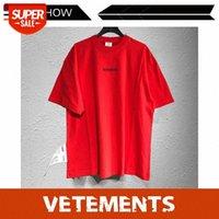 Ves de moda de la calle francesa Camiseta de manga corta VTM Extranjera de gran tamaño Flojo # GB3V