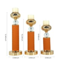 Candle Holders 3pcs set For Metal  Metal Candlestick, Wedding Decoration ,bar Banquet, Living Room Decoration, Home