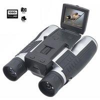 """FS608 Full HD1080P Digitalkameras-Teleskope 12x32 Video Cam für Tourismus Outdoor Multifunktionsfunktion, 4 in 1 Fernglas 2.0 """"LCD-Anzeige optischer Recorder, DVR-Camcorder"""
