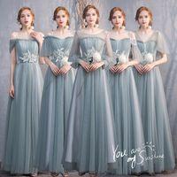 Women Elegant Exquisite Applique Evening Party Dress Temperament Vintage Banquet Gown Sweet Mesh Bridal Wedding Dresses Ethnic Clothing