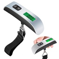 50kg 10g LCD Digital Hanging Electronic Scale Baggage Kitchen tools Package luggage scales