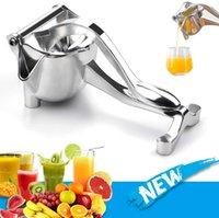 Manual Juice Squeezer Aluminum Alloy Hand Pressure Juicer Pomegranate Orange Lemon Sugar Cane Fresh Fruit