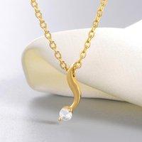 Chokers Female Crystal Ribbon Pendant Necklace Simple Engagement Wedding Choker Romantic Women Jewelry Friendship Gift Collier Bijoux