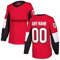 Personalizado Ottawa Senadores Hockey Jersey Brady Tkachuk Uniforme Camisa personalizada Número Número Número Presente Regalos Jerseys Para Hombres 2021 DIY
