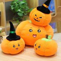 20 см Хэллоуин забавная тыква подушка кукла плюшевые игрушки мягкие высококачественные фаршированные игрушки подарки оптом