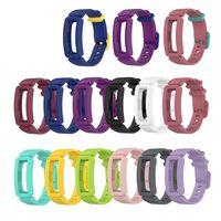 실리콘 시계 손목 밴드 스트랩 케이스 fitbit 에이스 3 Inspire 2 100pcs / lot