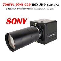 Kameror 700TVL CCD Sony Effio-E 4140 + 811 / Sony 2090 Sensor Säkerhetskamera med manuell Zoom Varifocal Lens Box OSD-meny