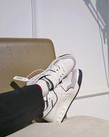 Италия ручной работы белая натуральная кожа повседневная обувь для мужских спортивных бегунов Mid-Top One Clip открытые тренажеры роскоши дизайнерские мужчины Nappa кроссовки пара 35-46