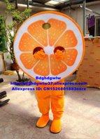 Maskottchen Kostüme Orange Arancia Mandarin Mandarinin Mandarino Maskottchen Kostüm Cartoon Charakter Jährliches Symposium Werbeartikel ZX1649