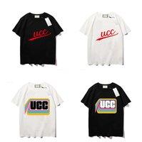 Los diseñadores de hombres camisetas para hombre de algodón puro marcas de bordados con manga corta tendencia de la clásica ropa de manga corta, camisetas de lujo SS,
