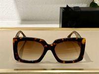 L'Avana Square Sunglasses Brown Gradient Lenti 0434 Sonnenbrille Donne Moda Occhiali da sole Occhiali Occhiali da Sole firmAti UV400 Protecton con scatola