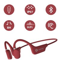 Smallest trucker earphones BT bone conductiontechnologyopen your ears