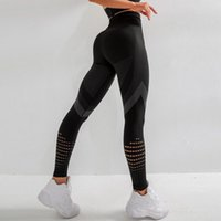 Karın Kontrol Dikişsiz Spor Koşu Tayt Kadın Sıkı Yüksek Bel Spor Egzersiz Spor Sıkıştırma Tayt Pantolon