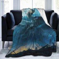Blankets Godzillas 3D Cartoon Sherpa Blanket Warm Super Soft Flannel Office Nap Bedspread Sofa Bedding Plush Quilt Plaids 291795280