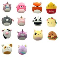 2021 Squishmallow Plush toys Stuffed Animals Cat Dinosaur Lion Soft Pillow Animal Doll toy 20 cm M3667