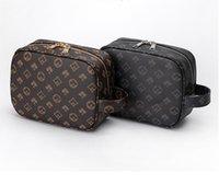حقيبة مخلب للرجال الأعمال حقيبة سعة كبيرة عارضة شعرية القديمة زهرة المغلف أكياس المرأة مصمم محافظ محفظة