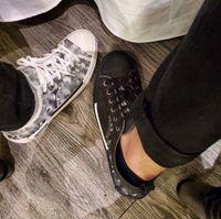 2021 Yüksek-üst Sneakers Dor Yukarı Jones ile Moda Tasarım Klasik Oblìque Baskı Logoları Erkekler Kadınlar Çocuk Ayakkabı Paten Ayakkabı