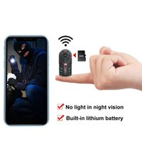 Cameras Wireless WiFi Small Mini Camera Smart Home Security Surveillance Tiny Cam Indoor Night Vision Motion Detection Pet Baby Monitor