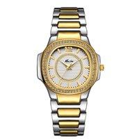 Kadınlar Saatler Moda İzle 2021 Cenevre Tasarımcı Bayanlar Elmas Kuvars Altın Bilek Saatı için Hediyeler