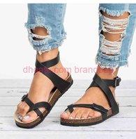 Sandals Women 2020 Summer Shoes Women Flat Sandals For Beach Chaussures Femme Clog Plus Size 43 Casual Flip Flop A001941