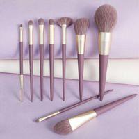 Makeup Brushes 9PCS SET Brush Set Powder Eye Shadow Blending Eyeliner Eyebrow Foundation Make Up Tools Beauty Cosmestic