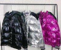 Classic Mens Designer Jacket Coat Winter Men Women Down Jackets with Letters Big Patterns Fashion Windbreaker Outwear Parkas 3 Colors Option