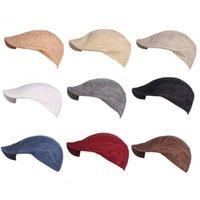 Fashion Spring Summer Cotton Beret Caps For Men Women Winter Sun Hat Unisex Octagonal Cap Vintage Outdoor Sports Berets
