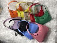 2021 أعلى جودة إعادة طبعة الإبط حقيبة 2000 النايلون حقائب جلدية الكتف المرأة حقيبة crossbody رسول حقيبة بالجملة