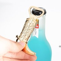 Creative Cowboy Boot Bottle Opener Vintage Metal Corkscrew For Western Birthday Bridal Wedding Favors And Party Gifts DHD8873