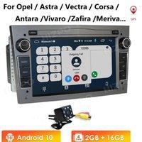 "Din Android 10 Car DVD GPS For Vauxhall Astra Meriva Vectra Antara Zafira Corsa Agila 7"" Radio Player NO 2GRAM 4G"