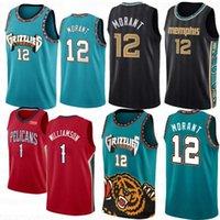 Ja 12 Morant Zion 1 Williamson Ncaa Men Basket Ballsy Jersey MemphisGrizzly.LONZO 2 BALL NEWOrleans.Pellicani2021 Jerseys S-XXL
