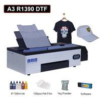 Stampanti DTF Stampante A3 T-shirt Macchina da stampa per Imprestora R1390 Transfer di calore Pellicola per animali domestici Stampa diretta con inchiostro