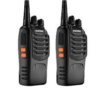 원래 Baofeng BF-888S 휴대용 핸드 헬드 워시 토키 자동차 UHF 5W 400-470MHz BF888S 양방향 라디오 편리한 Youpin
